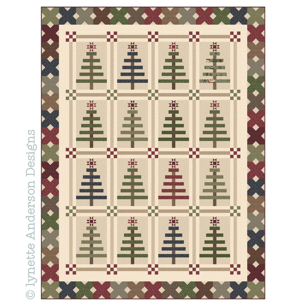 Oh..Christmas Tree Quilt - pattern