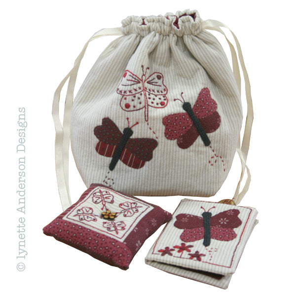 Butterfly Sewing Set - Pattern