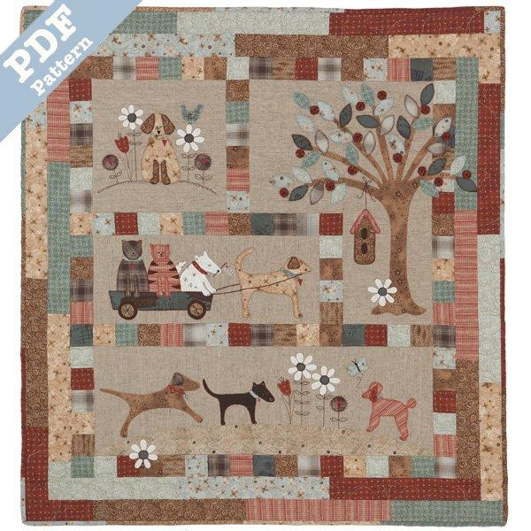 A Dog's Life BOM - Downloadable pattern set