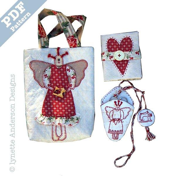 Angel Sewing Set - download pattern