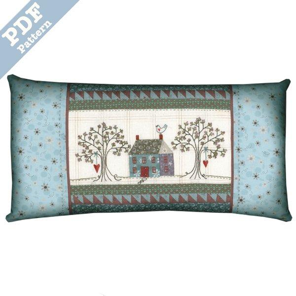 Annie's Cottage Pillow - Downloadable