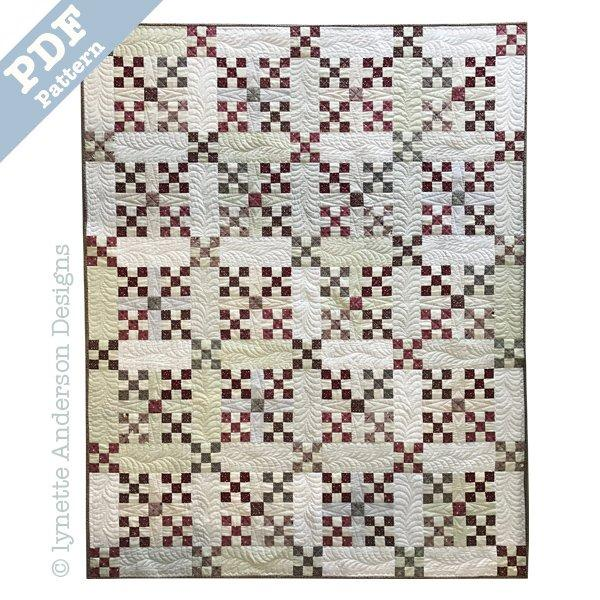 Cherry Pie Quilt -Downloadable pattern