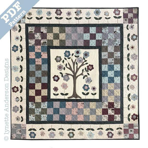 Cherry Tree Quilt - downloadable pattern