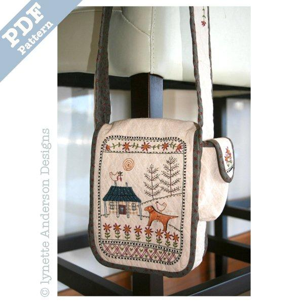 Daisy Cottage Bag - downloadable pattern