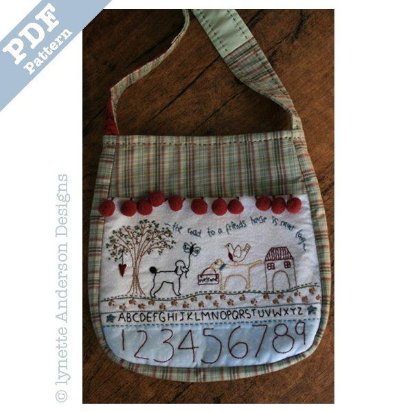 Friends House Bag - downloadable pattern