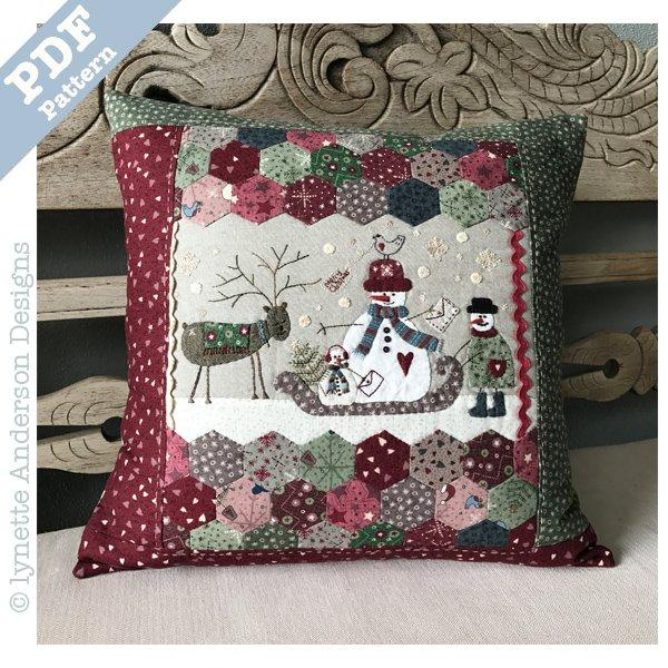 Frosty the Postman - downloadable pattern