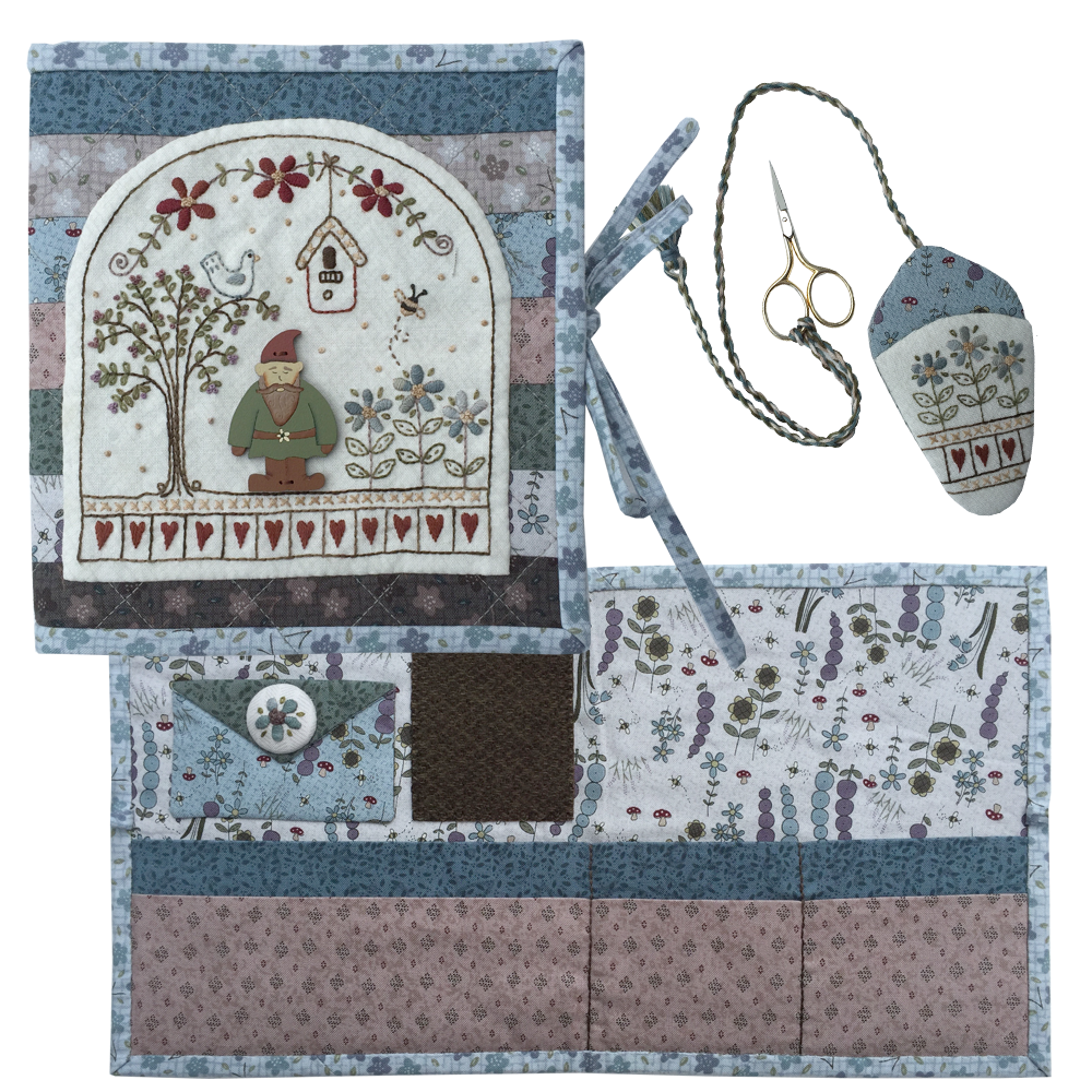 Garden Gnome Needlecase - pattern