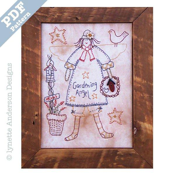 Gardening Angel - Downloadable pattern