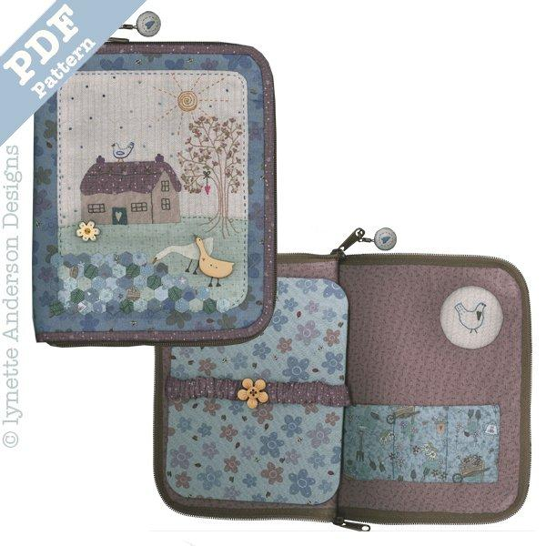 Goose Cottage Accessories Case - downloadable patten