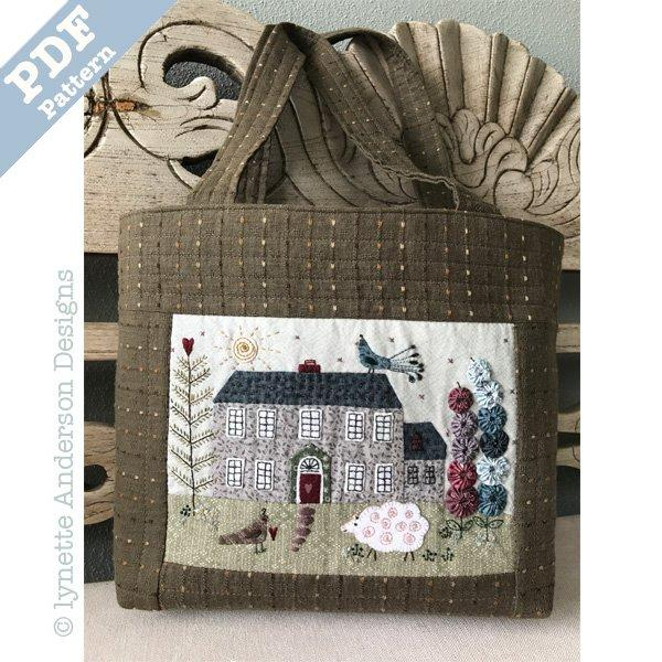 Highfield House Bag - downloadable pattern