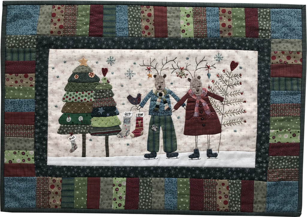 His and Hers Tablerunner - pattern