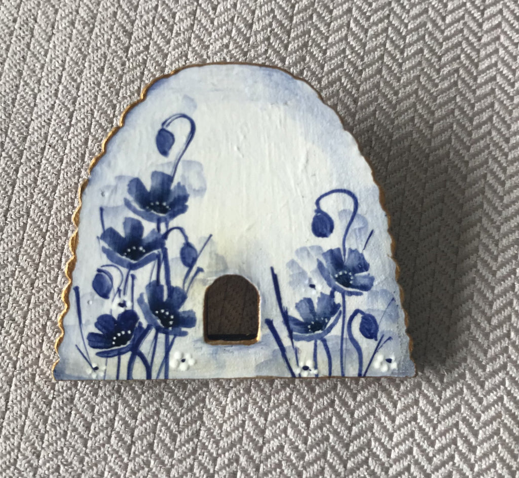 Hand Painted Brooch #30