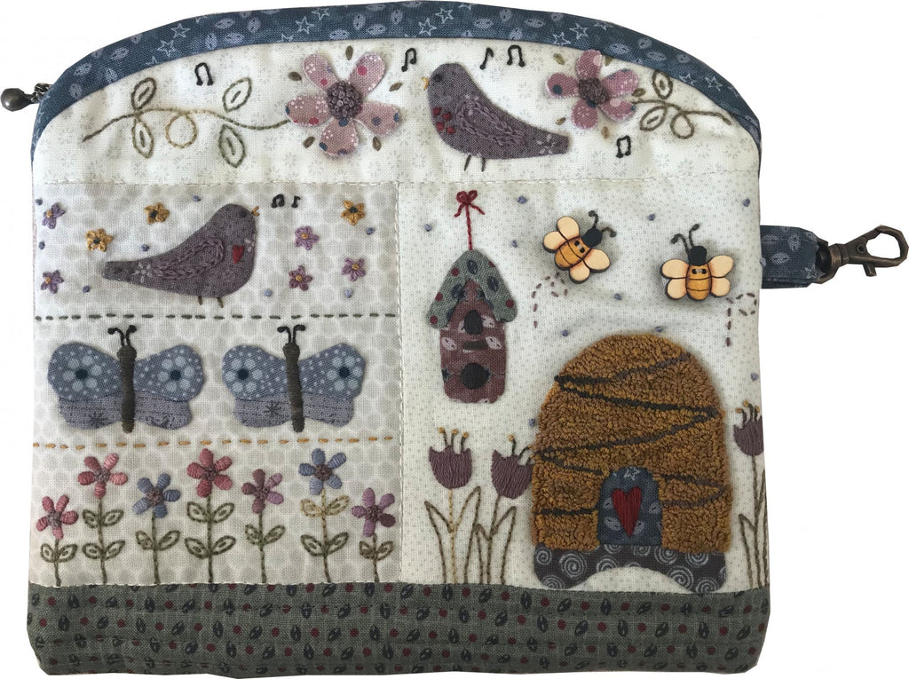 In a Garden Pouch Zippered Pouch - pattern