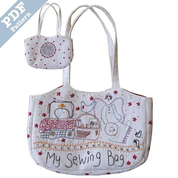 My Sewing Bag - downloadable pattern
