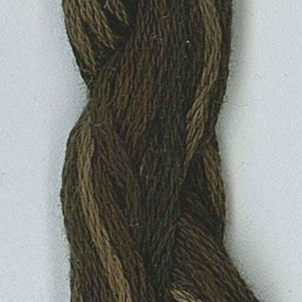 Valdani Thread O548 Blackened Khaki Brown