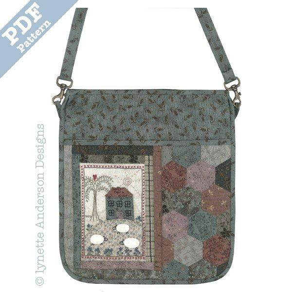 Shepherds Cottage Bag - Downloadable pattern