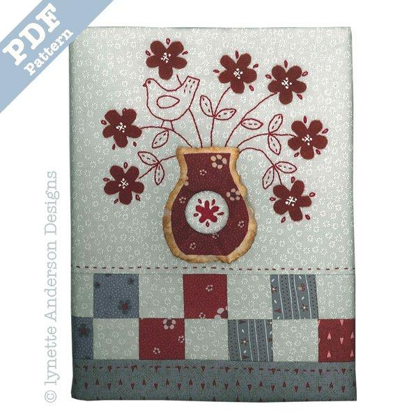 Simply Red Journal - downloadable pattern