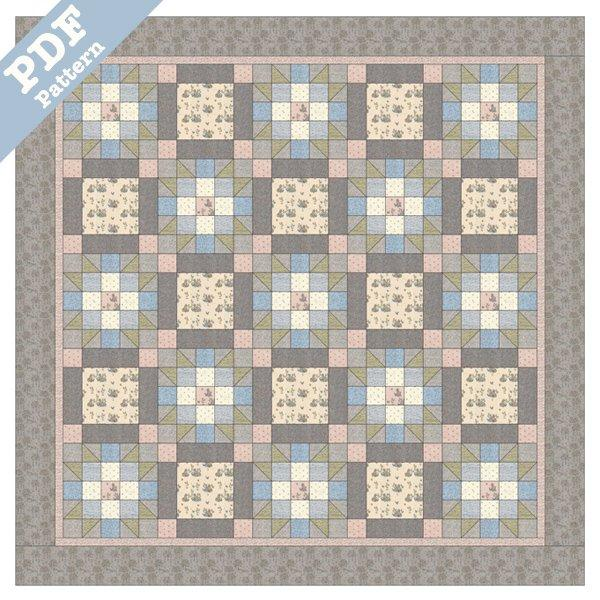 Summer Breeze  Quilt - Downloadable pattern