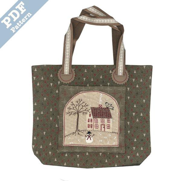 Winter House Bag - Downloadable