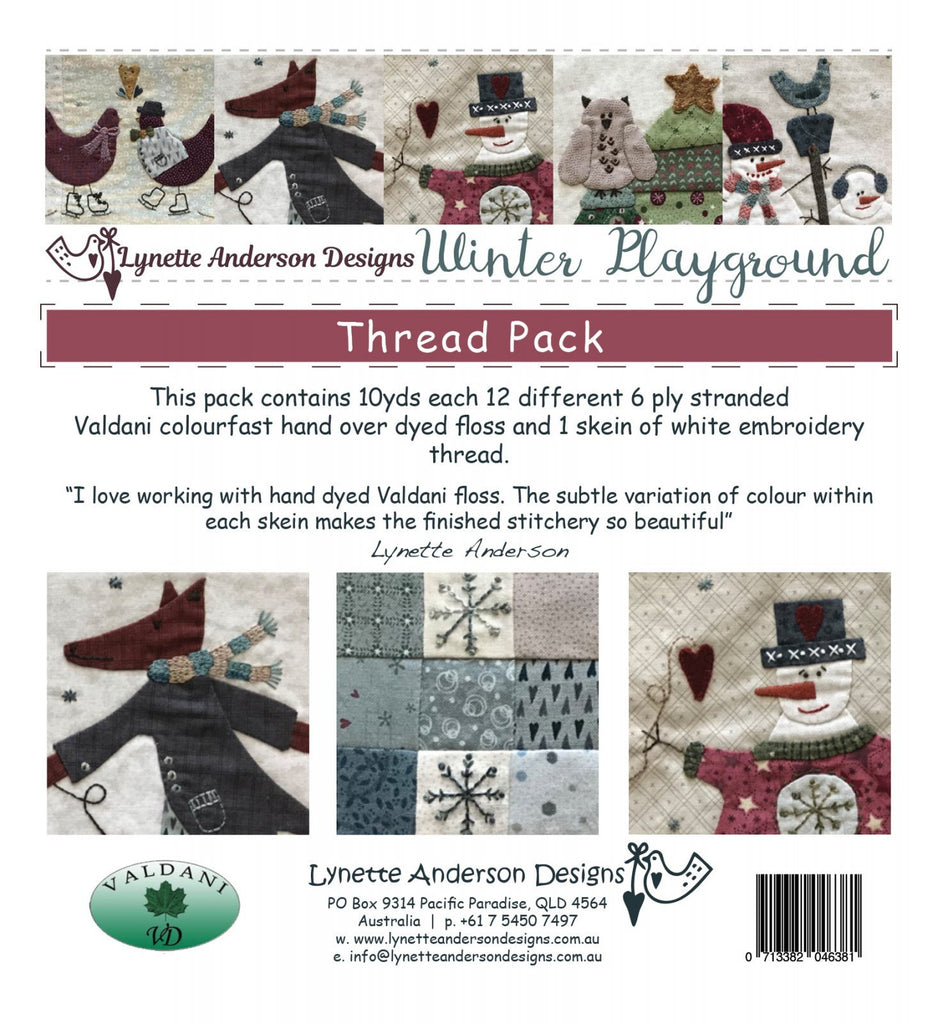 Winter Playground  Valdani thread pack