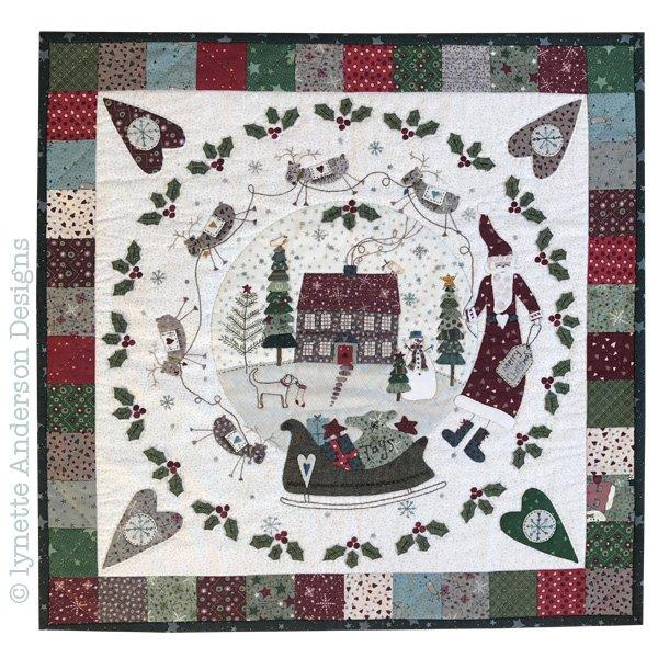 Hollyberry House - pattern