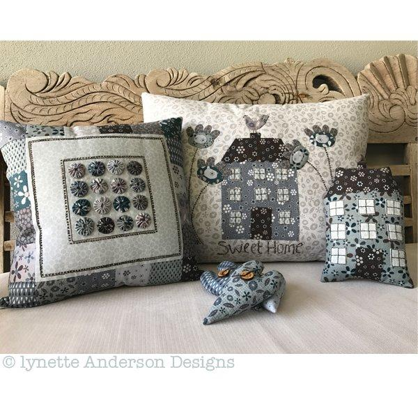 Sweet Home Pillows - pattern