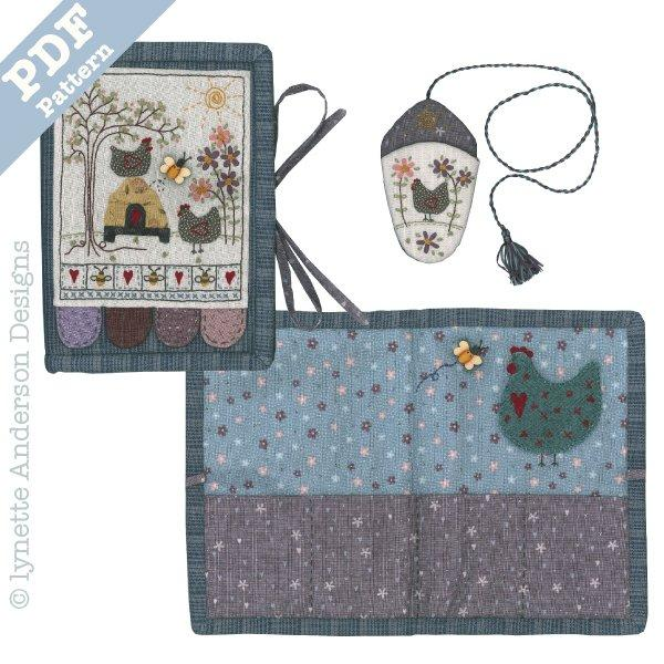 Mrs Hen Needlecase - Downloadable Pattern