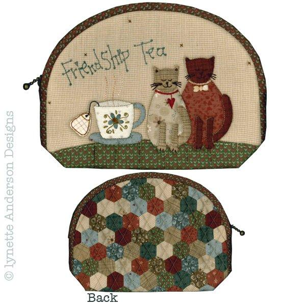 Friendship Tea Pouch - pattern