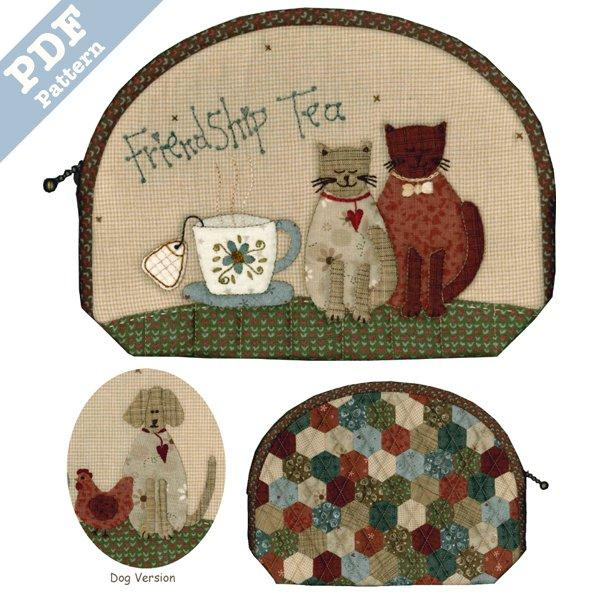 Friendship Tea Pouch - Downloadable pattern