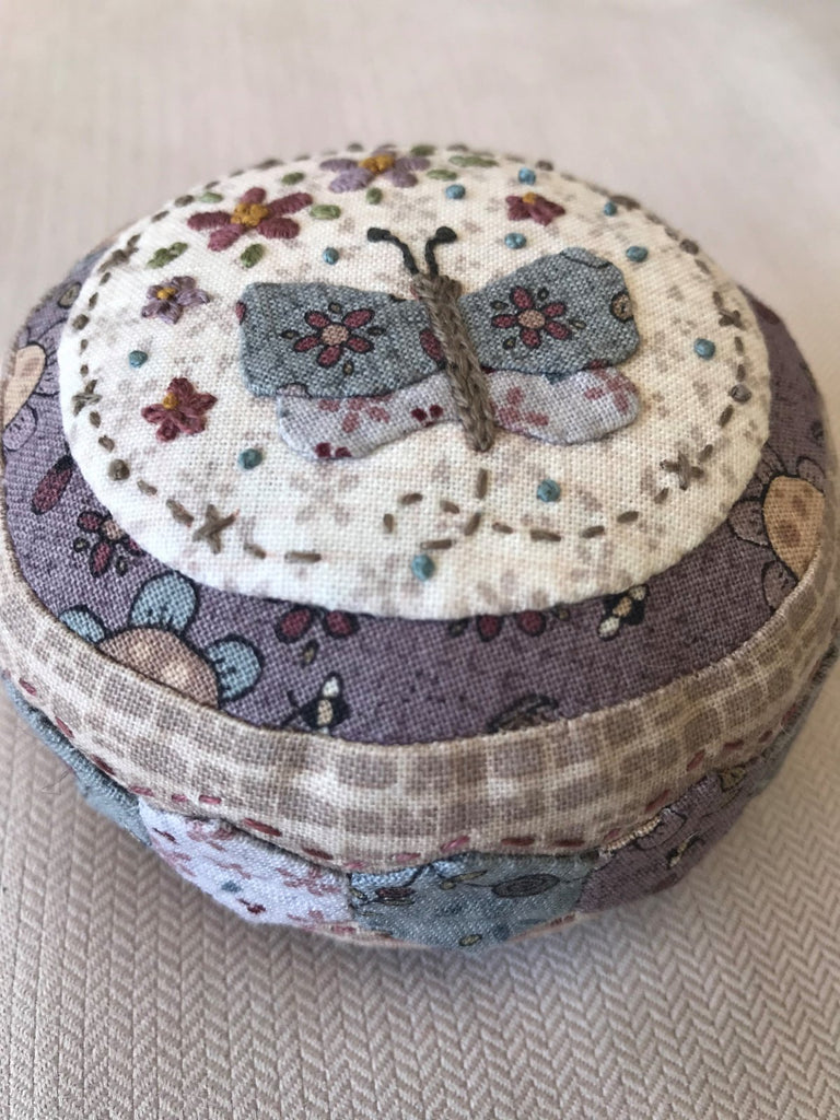 Summer Garden Pincushion - pattern