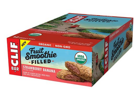 CLIF FRUIT SMOOTHIE FILLED BAR 12 PACK