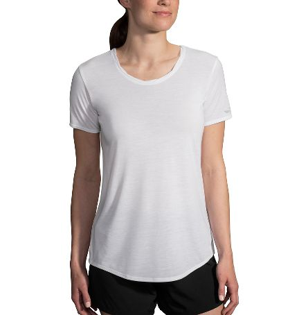 WOMEN'S BROOKS DISTANCE SHORT SLEEVE