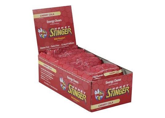 HONEY STINGER ORGANIC ENERGY CHEWS 12 PACK