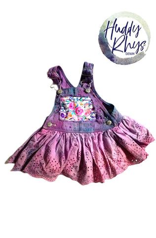 RTS Spring Floral Dress 6m
