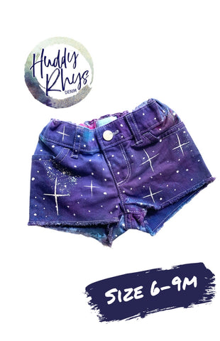 RTS Galaxy Shorts Girls size 6-9m