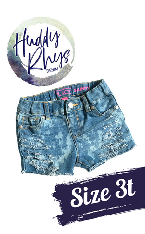 RTS Bleached Girls Shorts 3t