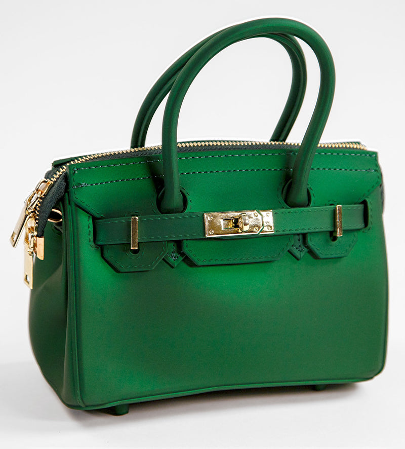 Green Mini-Size Zipper Splash Bag