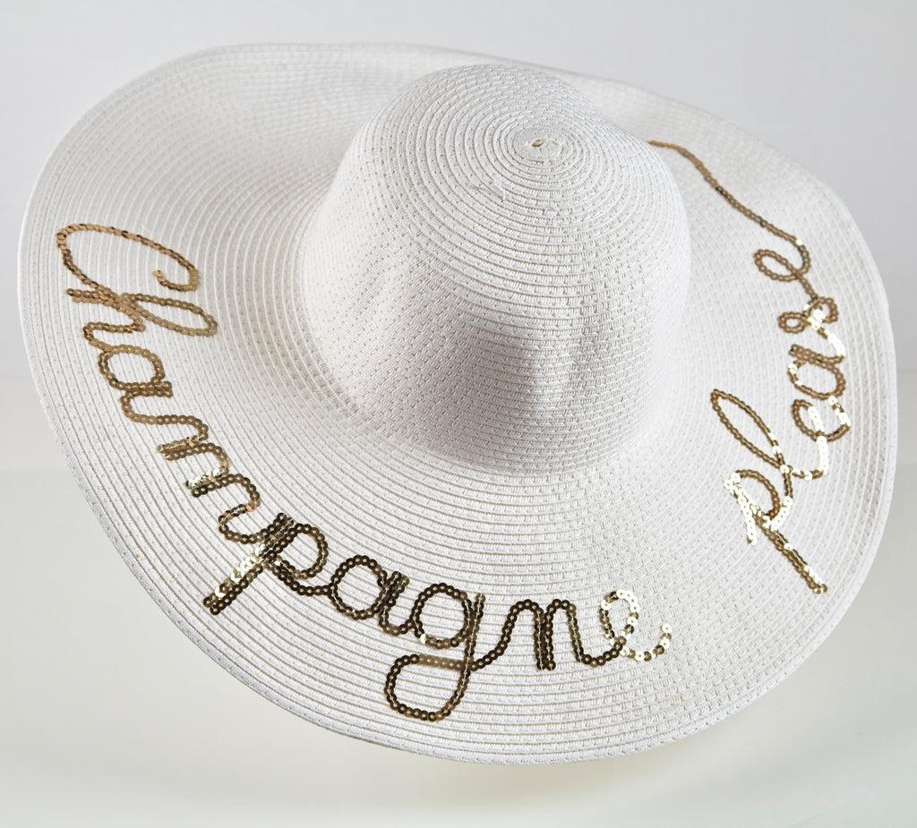 Champagne Please Hat
