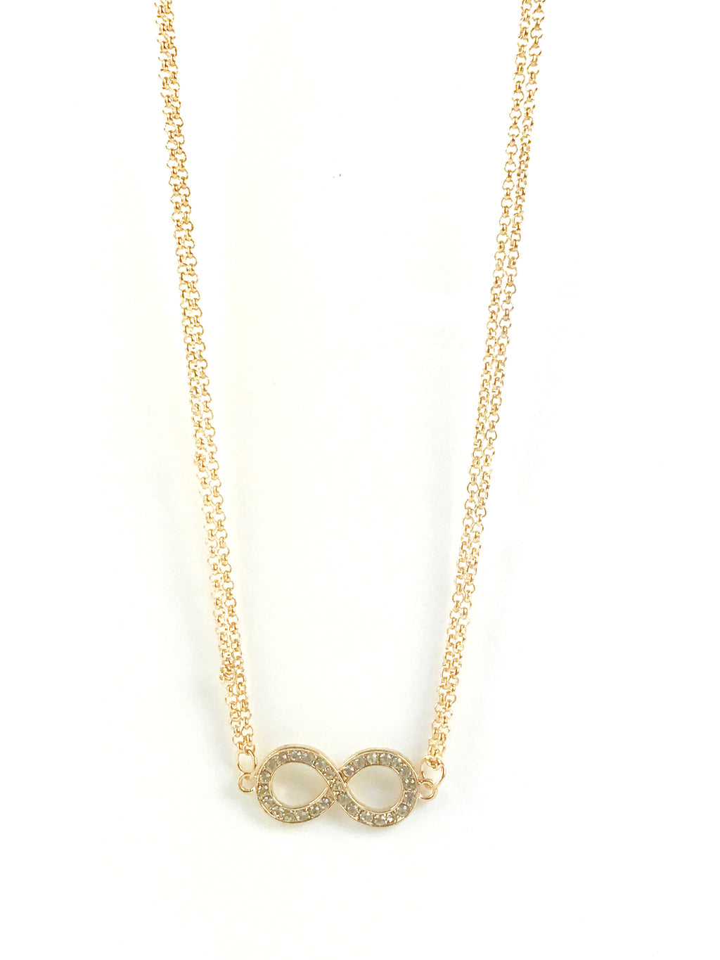 Body Chain Gold Infinity