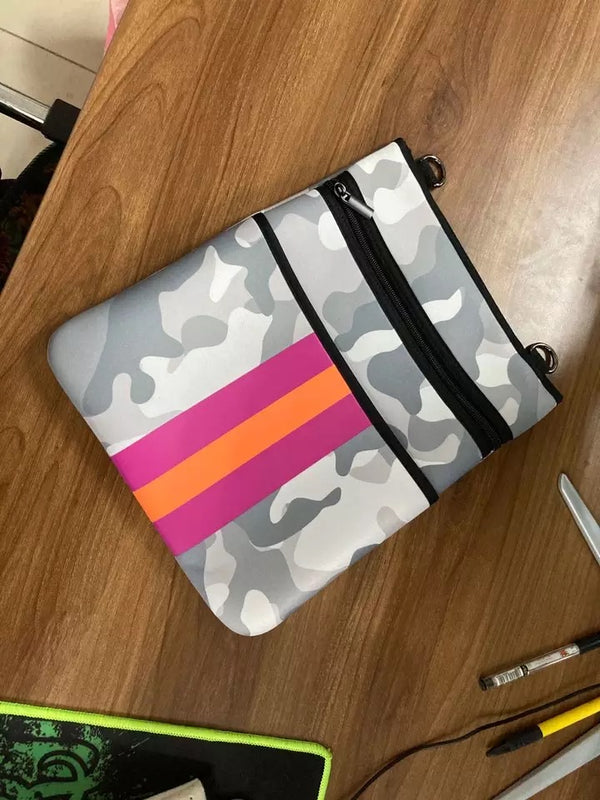 Pre Order Gray Camo with Neon Pink