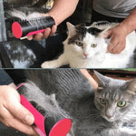 3 IN 1 PET BRUSH<br>The DeShedding Tool That Does It All…