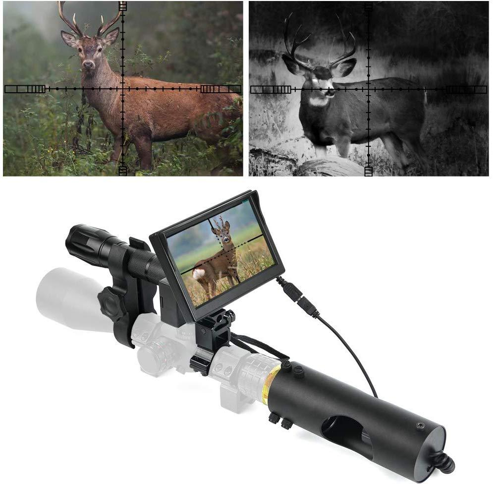 TechVision™<br>Digital Night Vision Scope Attachment