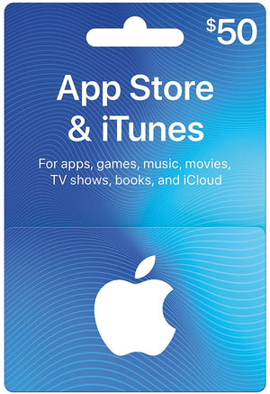 iTunes Gift Card & App Store - Digital Delivery