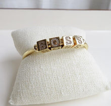 Load image into Gallery viewer, Cube Cuff Bracelet