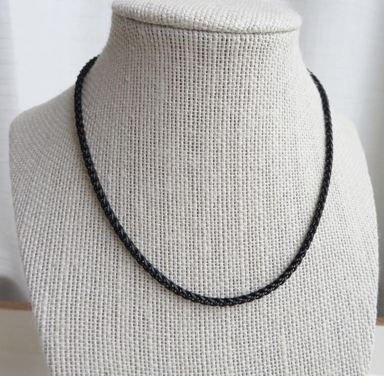 Black Wheat Necklace