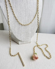 Load image into Gallery viewer, Rose Wrap Necklace
