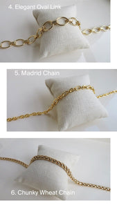 Ballon d'Or Additional Necklace Chain Options