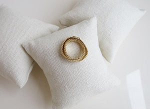 Herringbone Chain Ring