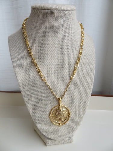 Madrid Coin Necklace