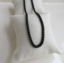 Load image into Gallery viewer, Black Wheat Necklace
